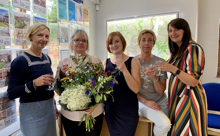 dianne's retirement from berriman eaton estate agents